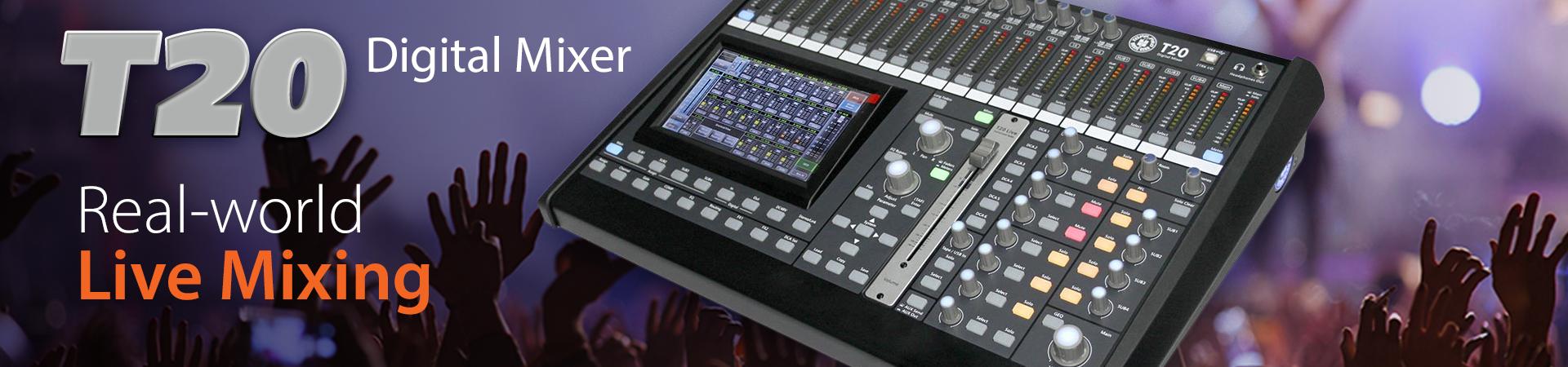 Topp Pro T20 Digital Mixer – Direct Imports